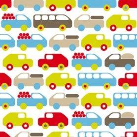 Auto Bus Vrachtwagen Kinderbehang