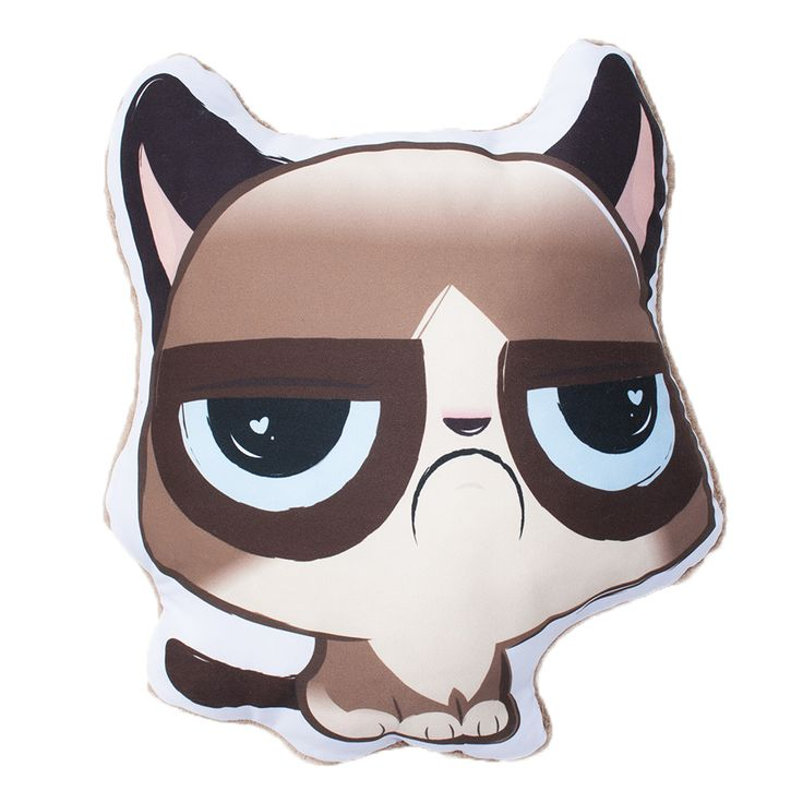 Morcica párna - Grumpy Cat pillow