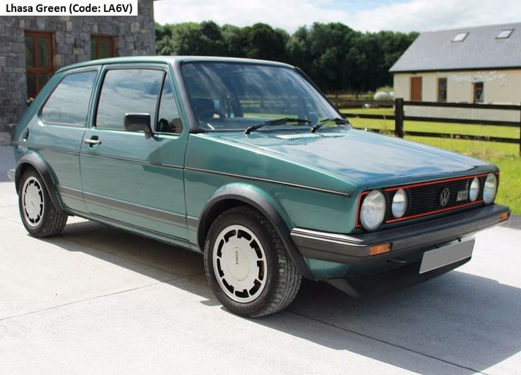 """39 best MK1 Golf GTI """"Campaign"""" edition images on Pinterest 