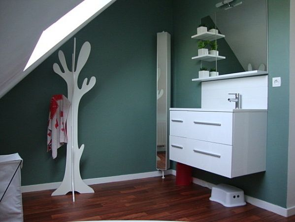 12 best images about vert on pinterest boys nurseries and cuisine for Comcasanaute salle de bain