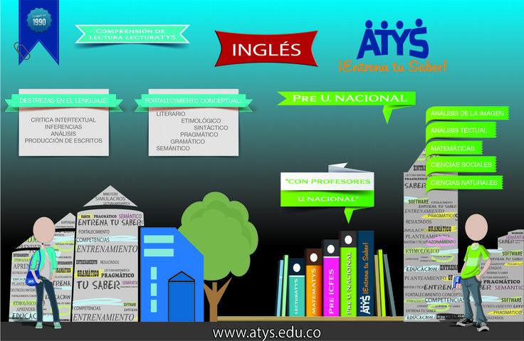 ATYS - PRE ICFES,PRE UNAL, INGLES