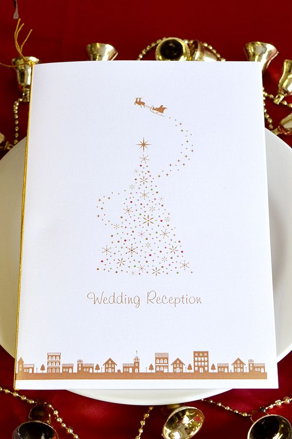 手作り【席次表キット】クリスマスタウン 素敵な街並みと、キラキラ光るクリスマスツリーが 印象的なデザインのクリスマス手作り席次表キット。 白を基調としたシンプルで可愛いデザインとなっていますので、 どんな会場にも合わせやすいですね♪ クリスマスがテーマの結婚式にオススメです(^O^)★ 専用のワードテンプレートがメールで送られてくるのでお家で簡単に作成・印刷ができますよ!