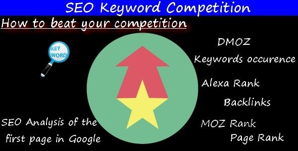 The SEO Keyword Competition is a script which gives you an easy but incredibly powerful way to...