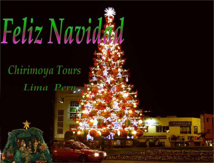 Feliz Navidad  Frohe Weihnachten  Von Chirimoya Tours   ihrem Peru  und Südamerika Reiseveranstalter    Aus Lima der Hauptstadt von Peru, Agencia de Viaje. Travel Agency. Südamerika Reisebüro.