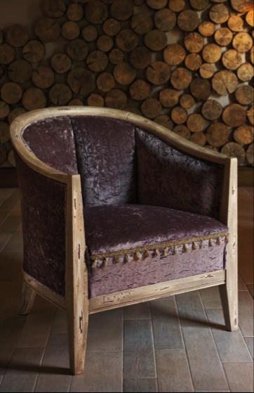 Испанская мебель ручной работы > Дизайнерская мебель > Коллекция Классика > Лола Гламур (Испания) Кресло LG243