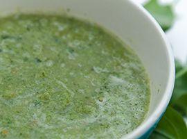 Green Veggie Power Soup Recipe