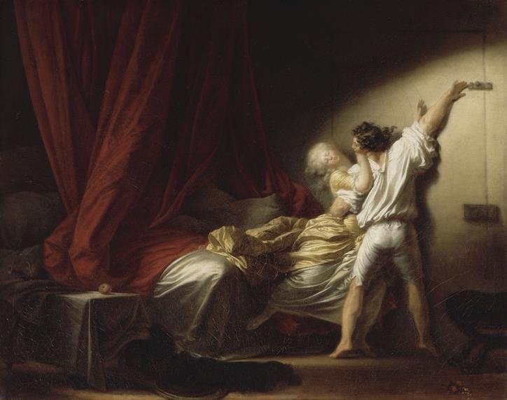 Jean-Honoré Fragonard (1732-1806), Le verrou / The lock © RMN-Grand Palais - Daniel Arnaudet