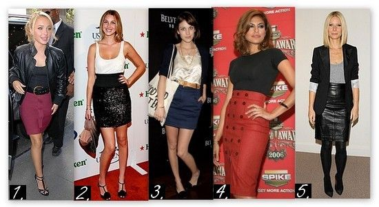 The hottest skirt styles for every woman's body type, from high-low, to high-waist..learn how to wear these babies!