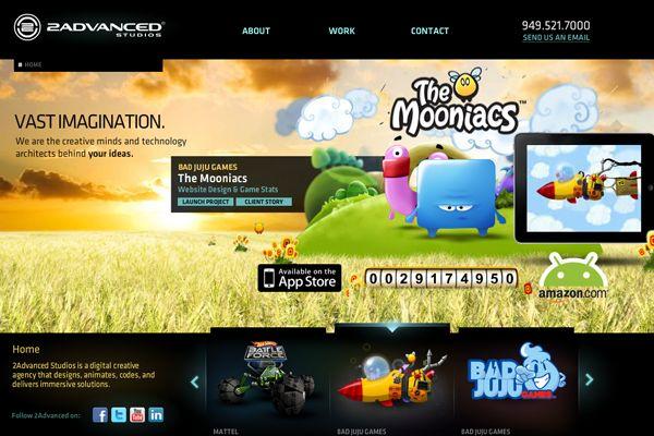 29 Flash-Based Websites for Creative Design Inspiration - DesignM.ag