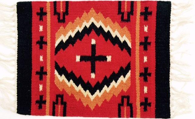 (EPHIM1520-14) Woolen Southwestern Placemat