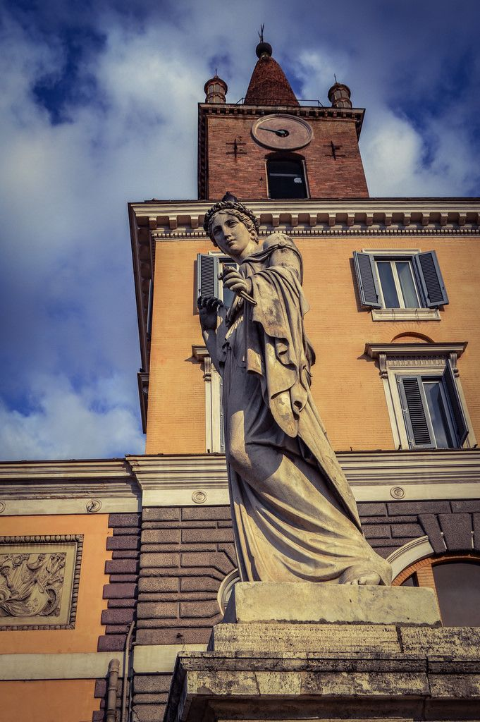 Plaza del Pueblo, Piazza del Popolo (Roma - Italy)