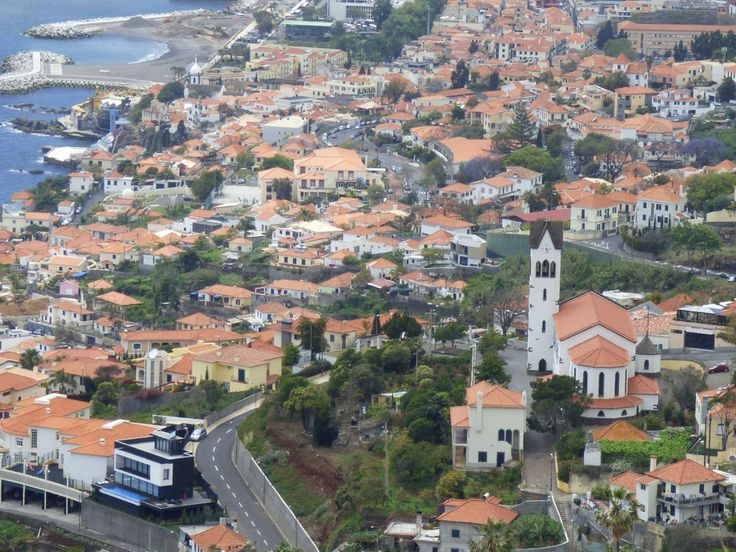 Zona alta do Funchal