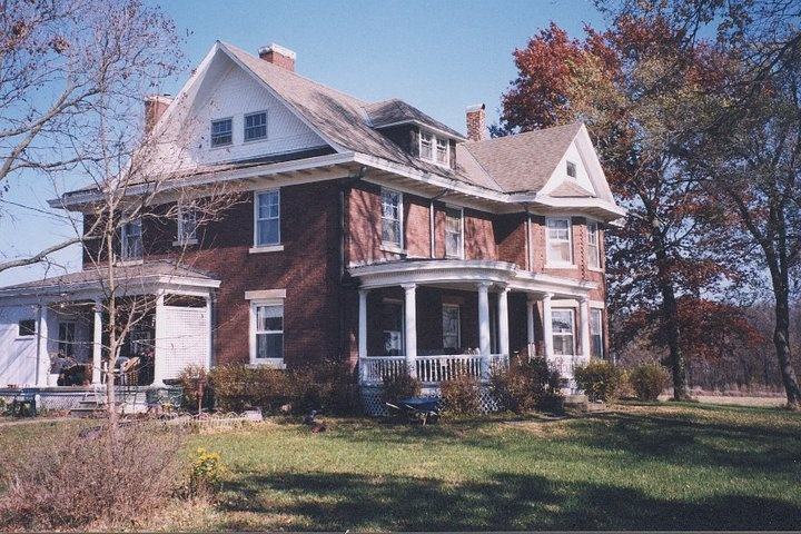 Taylor House in Lawrence, Kansas.