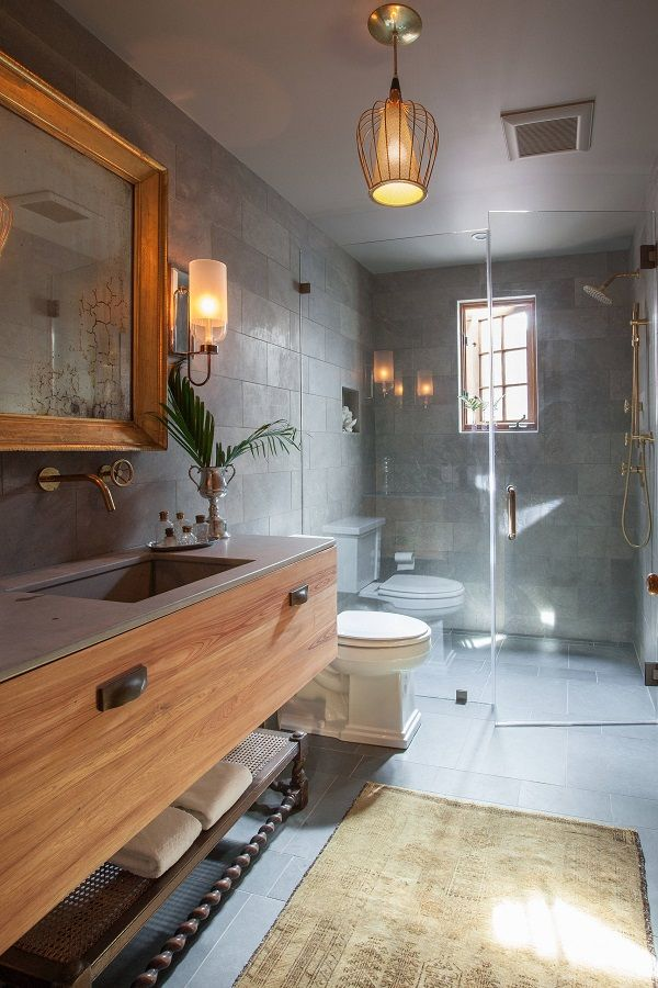 100 cozy farmhouse bathroom decor ideas you can easily copy rh pinterest com