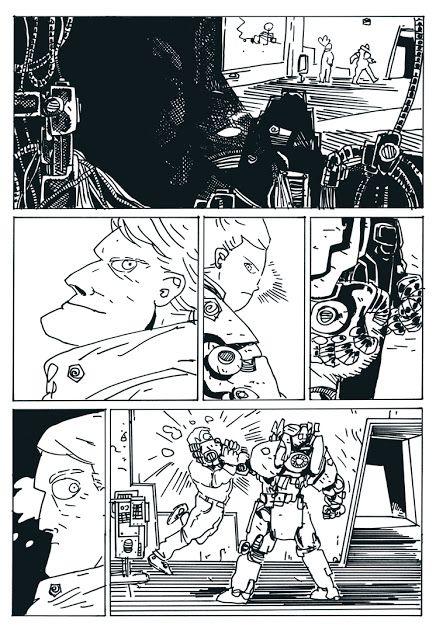 Jakub Kijuc - komiks, ilustracja: Plansza Jan Hardy - Dzieci Boże!