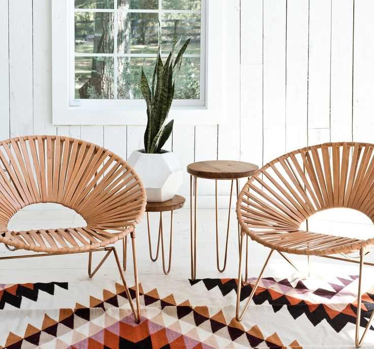 Aldama Chair - Copper & Natural