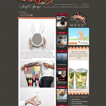 Grace Bonney's Design Sponge Blog: Best Interiors Blogs