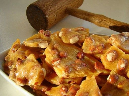 This is the best peanut brittle in the world, it is my grandma's recipe. Try it and see for yourself! Makes a great gift!