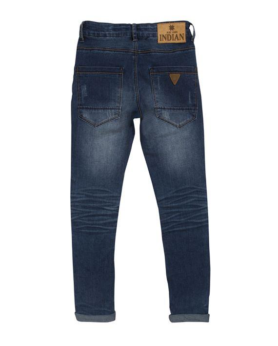 Blue Dann Slim Fit - Indian Blue Jeans