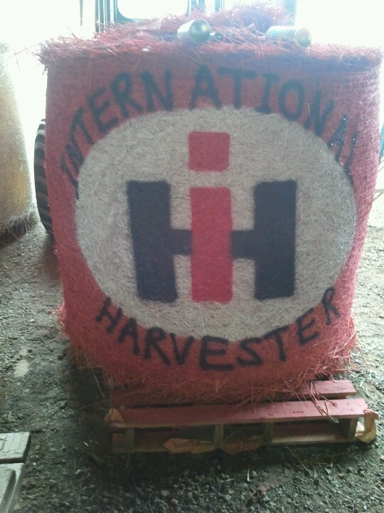 33 best images about hay bales on pinterest god bless for International harvester decor