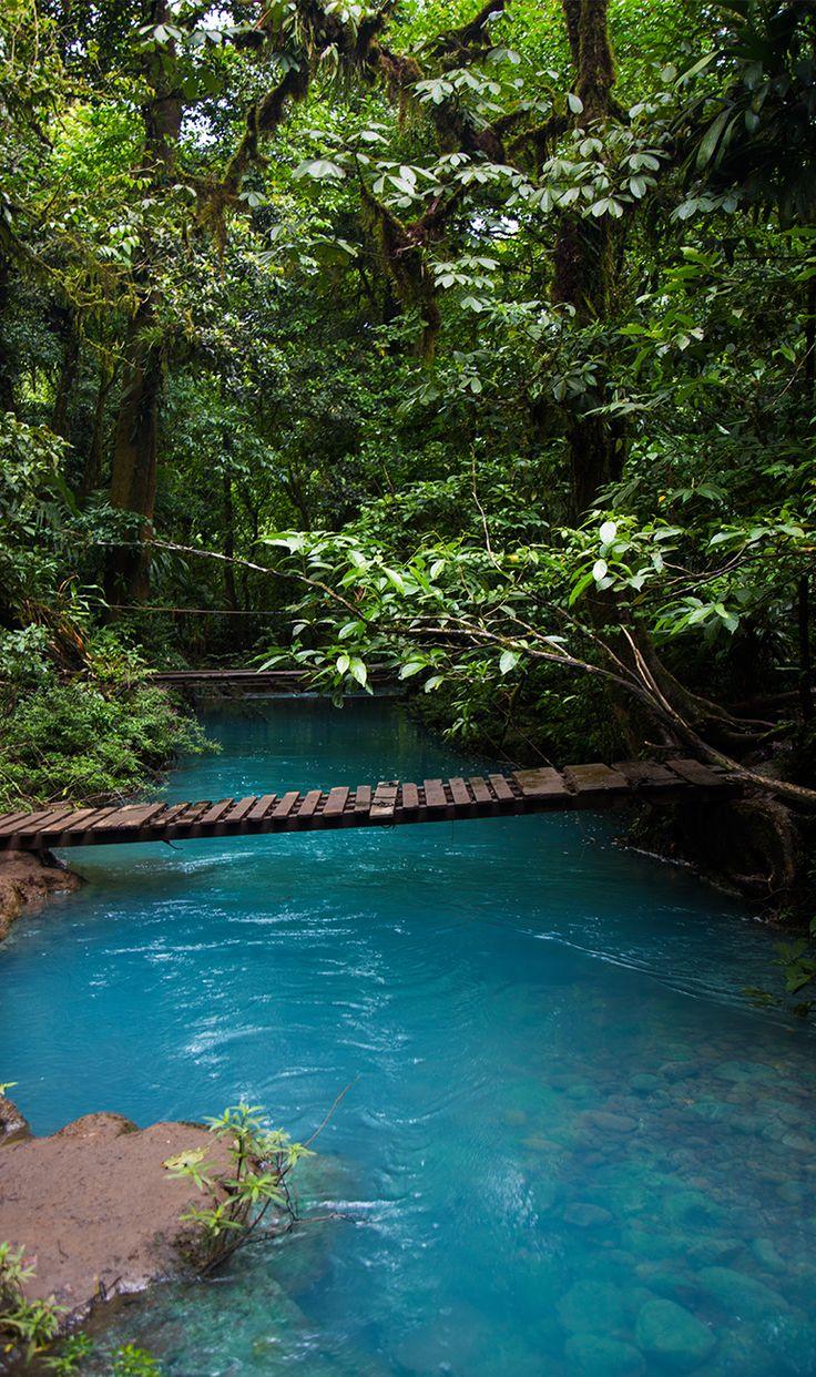 Bridge at Rio celeste, Costa Rica