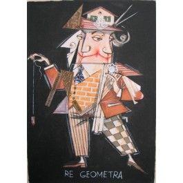 Paolo Fresu, Re geometra Serigrafia e collage #gliartistidiGALP