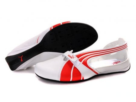 Puma 1 On Behalf Of The Sandals In Red/White