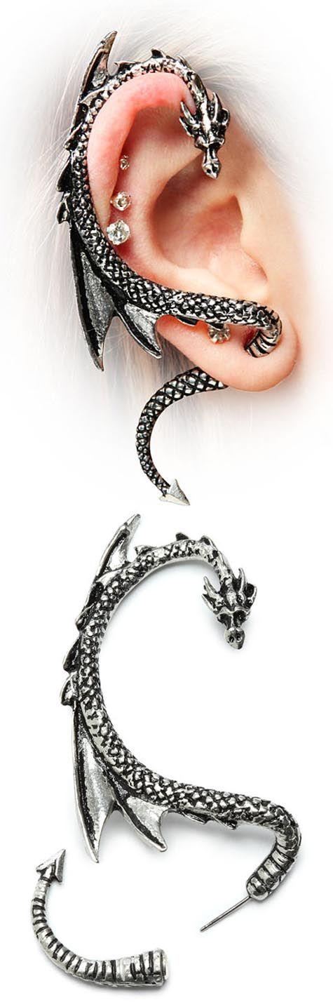 Dragon earrings!