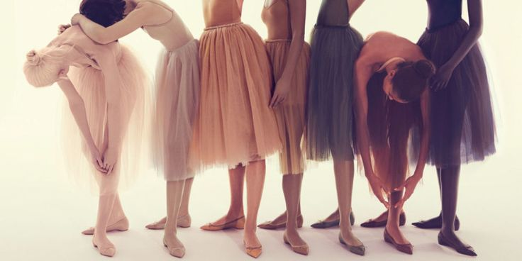 Christian Louboutin is expanding its Nudes Collection, making nude flats for every skin tone.