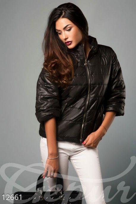 Gepur | Стеганная короткая куртка арт. 12661 Цена от производителя, достоверные описание, отзывы, фото