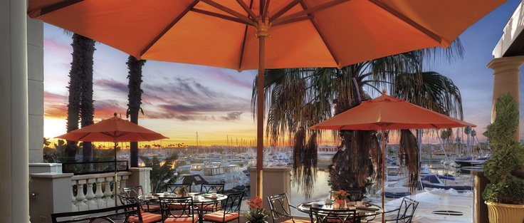 Settle into a Jer-ne terrace sunset at The Ritz-Carlton, Marina del Rey.