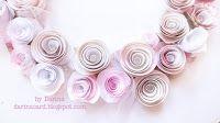 by Darina: Розовый венок на свадьбу и МК