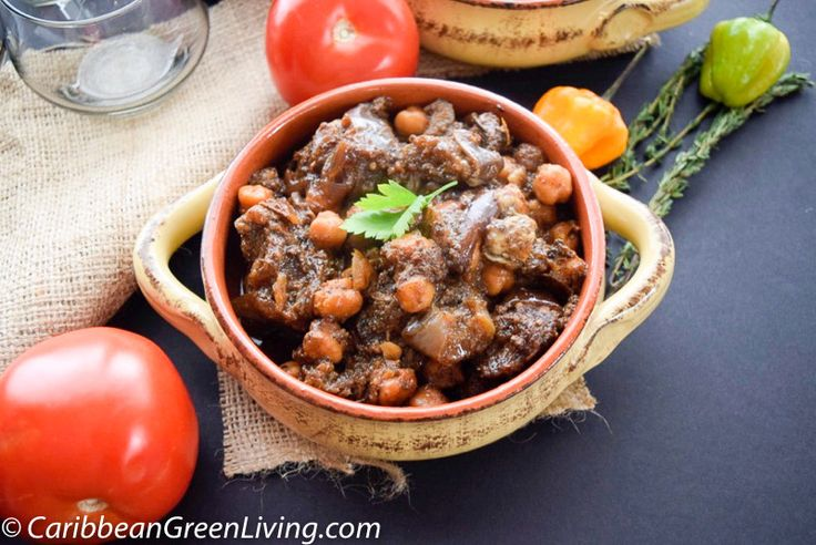 Lamb Stew with Eggplant and Chickpeas http://www.caribbeangreenliving.com/recipes/lamb-stew-with-eggplant-and-chickpeas/?utm_campaign=coschedule&utm_source=pinterest&utm_medium=Caribbean%20Green%20Living&utm_content=Lamb%20Stew%20with%20Eggplant%20and%20Chickpeas