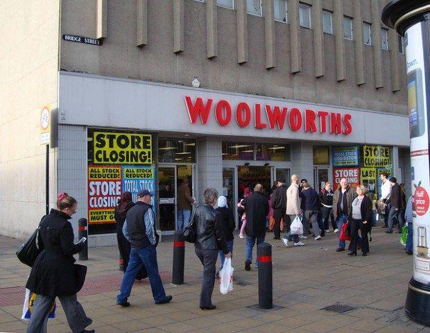 Peterborough Woolworths 2008
