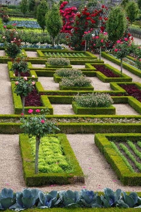 Villandry Castle Garden - Restored Renaissance palace, home to formal gardens with a maze & temporary art exhibitions.