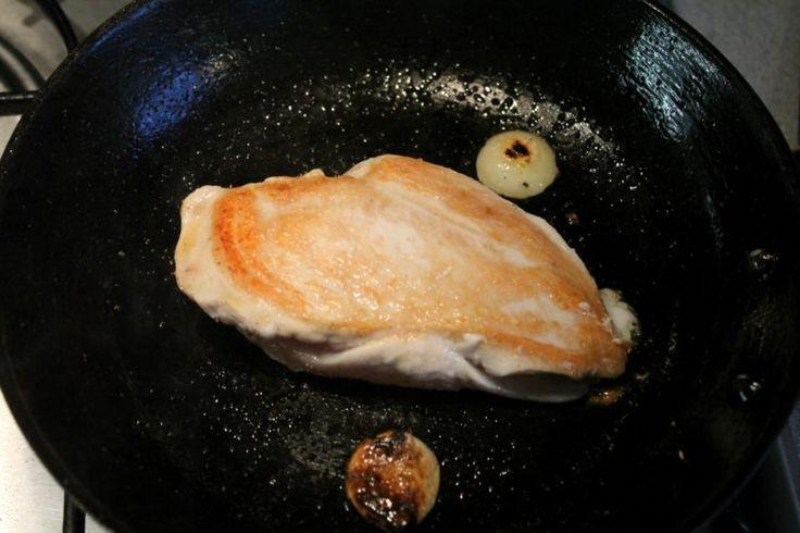 Egyben sült csirkemell - Nemzeti ételek, receptek