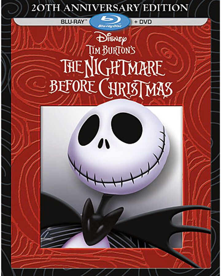The Nightmare Before Christmas DVD-Blu-Ray combo #commisionlink #disney
