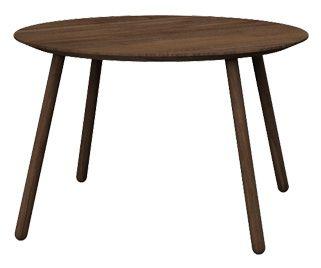 Stół okrągły OX, kolor: 05 Cacao, wymiar: 120x120x76.  Miloni.pl