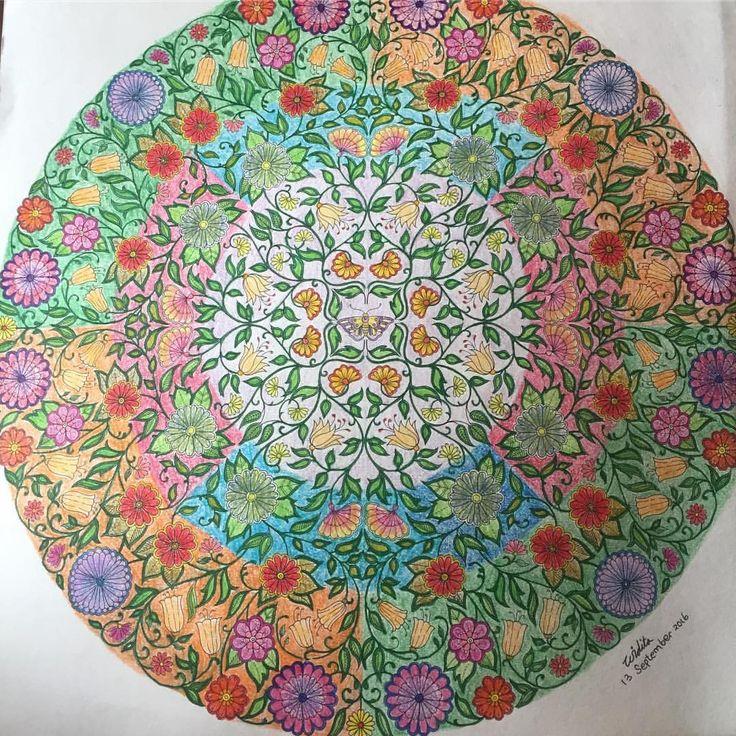 Widitaapsari Instagram O 22 Johanna BasfordSecret GardensColoring Books