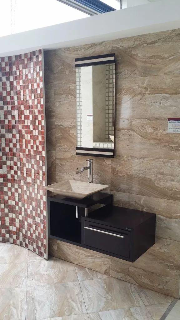 Muebles de ba o economicos lavabo de marmol moderno for Banos modernos y economicos