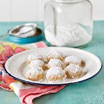 Almond and Lemon Shortbreads - Gluten Free