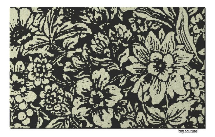 Winters Garden Rug - Customisable hand tufted luxury wool rug by rug couture