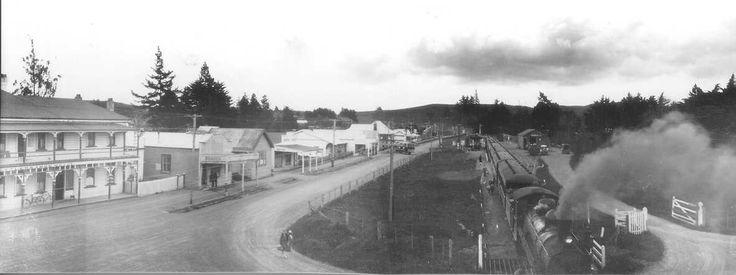 Train at Ormondville Station