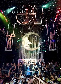 studio 54 moon – love the iconic moon maybe it could be in the background