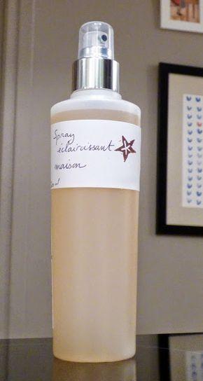 le spray éclaircissant maison pour les cheveux. Slow Cosmétique #11, Une semaine à Paris-Forêt