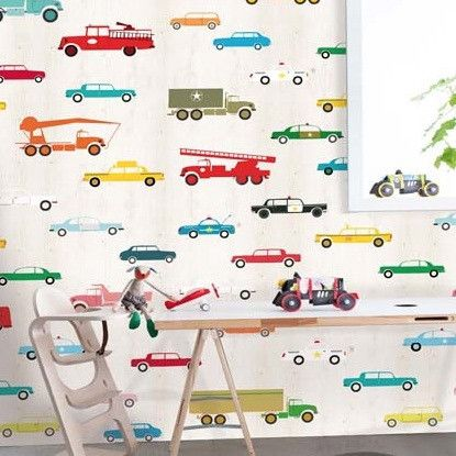 Onszelf Kids Wallpaper Panels | OZ3159 Cars & Trucks