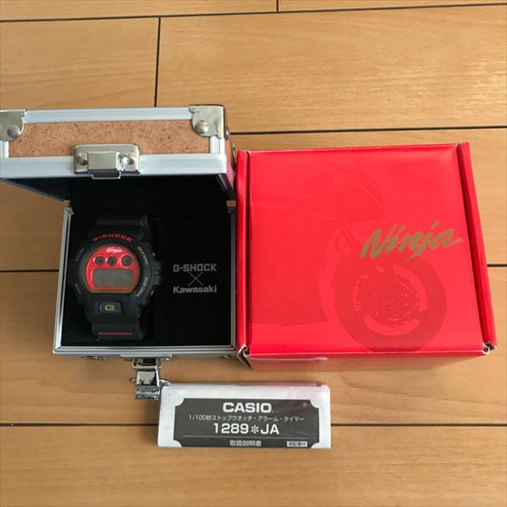 NEW G-shock Kawasaki Ninja 25th Anniversary Limited Edition Japan EMS DW-6900FS #GSHOCK