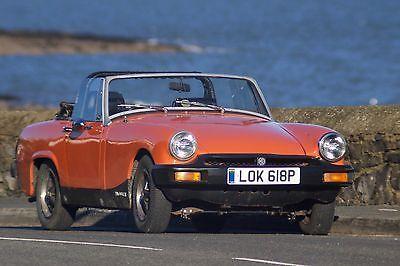 eBay: MG Midget 1500 1976