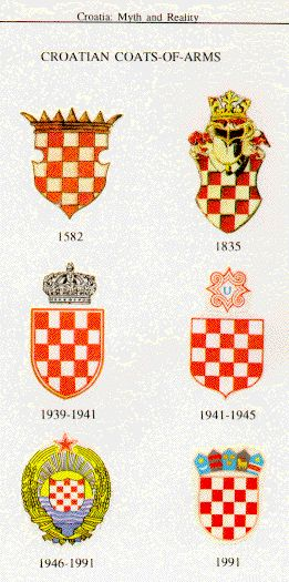 a croatian coat of arms tattoo? ( it would be cool to somehow combine this with my other half of my family which is hungarian )
