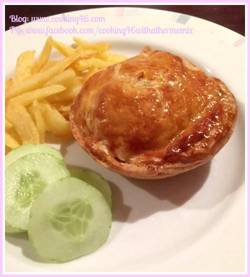 Cooking 4 6 with a Thermomix | Chicken, Mushroom & Leek Pies In Just A Few Easy Steps